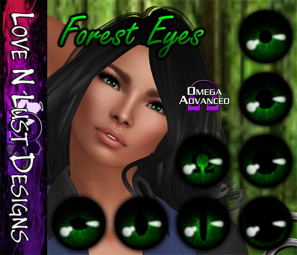 [LNL] Omega Eye Collection - Forest