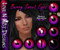 [LNL] Omega Eye Collection - Berry Sweet