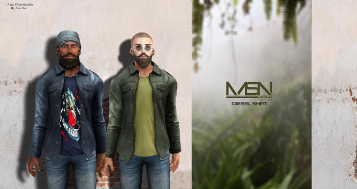 DISCOUNT %40 [MSN Design] Diesel Shirt [FATPACK]
