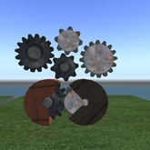 SteamPunk Industrial Gears - boxed