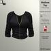 DE Designs - Madison Top - Black