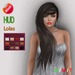 "eDeLsToRe woman mesh hair "" Ava "" incl 12 color HUD + Lola version"