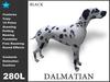 Dalmatian Black spot Mesh ( roaming animate feedable copy )