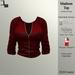 DE Designs - Madison Top - Red