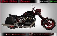 [Mesh ] Bike Demonic Black