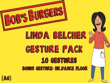 (Ag) Bob's Burgers  -  Linda Belcher gesture pack