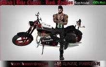 [Mesh ] Bike Classic - Rock Fashion