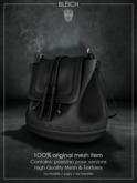 Bleich - Mesh MaryJane Bag - Black