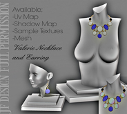 -JF- Design - Valerie Necklace and Earring - Full Permission