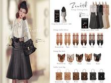 =Zenith=leather incase bag (Grey)