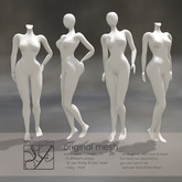 Snowpaws - Static Store Mannequins Pack 1