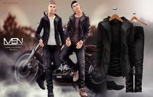 [MSN Design] Carl Outfit 2 [BLACK - BLACK]