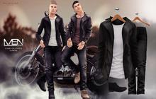 [MSN Design] Carl Outfit 2 [BLACK - WHITE]