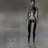 Snowpaws - Grace Mannequin Mesh Avatar Smoke