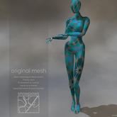 Snowpaws - Grace Mannequin Mesh Avatar Blue Petal