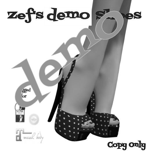Zef's Rockabilly Shoes (DEMO)  Maitreya Slink TMP