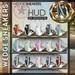 NS::  Mesh Wedge Sneakers (hud)