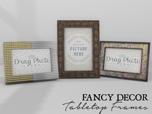 Fancy Decor: Tabletop Frames II