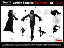 Gaagii - The Escape - Vampire Animation (unisex)