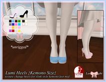 Lamp*Light - Lumi Heels  (kemono sized)