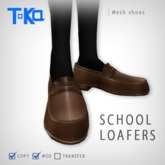 Toka Designs - School Loafers (Mesh)