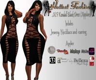 .:H.F Kendall Black Dress (Applier)