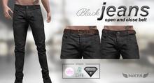 INVICTUS -   Jeans  Black