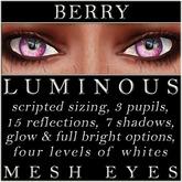 Mayfly - Luminous - Mesh Eyes (Berry)