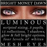 Mayfly - Luminous - Mesh Eyes (Bright Monet Dawn)