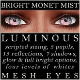 Mayfly - Luminous - Mesh Eyes (Bright Monet Mist)