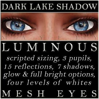 Mayfly - Luminous - Mesh Eyes (Deep Majorelle)
