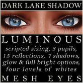 Mayfly - Luminous - Mesh Eyes (Dark Lake Shadow)