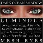 Mayfly - Luminous - Mesh Eyes (Dark Ocean Shadow)