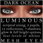 Mayfly - Luminous - Mesh Eyes (Dark Ocean)