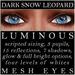 Mayfly   luminous   mesh eyes %28dark snow leopard%29