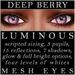 Mayfly   luminous   mesh eyes %28deep berry%29