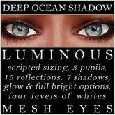 Mayfly - Luminous - Mesh Eyes (Deep Ocean Shadow)