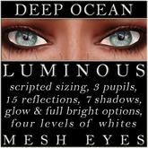 Mayfly - Luminous - Mesh Eyes (Deep Ocean)