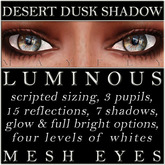 Mayfly - Luminous - Mesh Eyes (Desert Dusk Shadow)