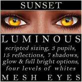 Mayfly - Luminous - Mesh Eyes (Sunset)