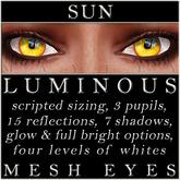 Mayfly - Luminous - Mesh Eyes (Sun)