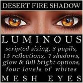 Mayfly - Luminous - Mesh Eyes (Desert Fire Shadow)