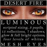 Mayfly - Luminous - Mesh Eyes (Desert Fire)