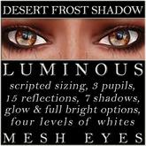 Mayfly - Luminous - Mesh Eyes (Desert Frost Shadow)