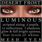 Mayfly - Luminous - Mesh Eyes (Desert Frost)
