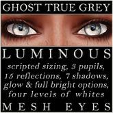 Mayfly - Luminous - Mesh Eyes (Ghost True Grey)
