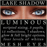 Mayfly - Luminous - Mesh Eyes (Lake Shadow)