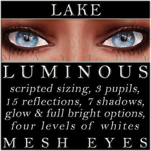 Mayfly - Luminous - Mesh Eyes (Lake)