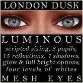 Mayfly - Luminous - Mesh Eyes (London Dusk)
