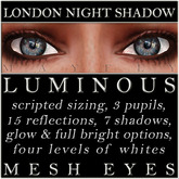 Mayfly - Luminous - Mesh Eyes (London Night Shadow)